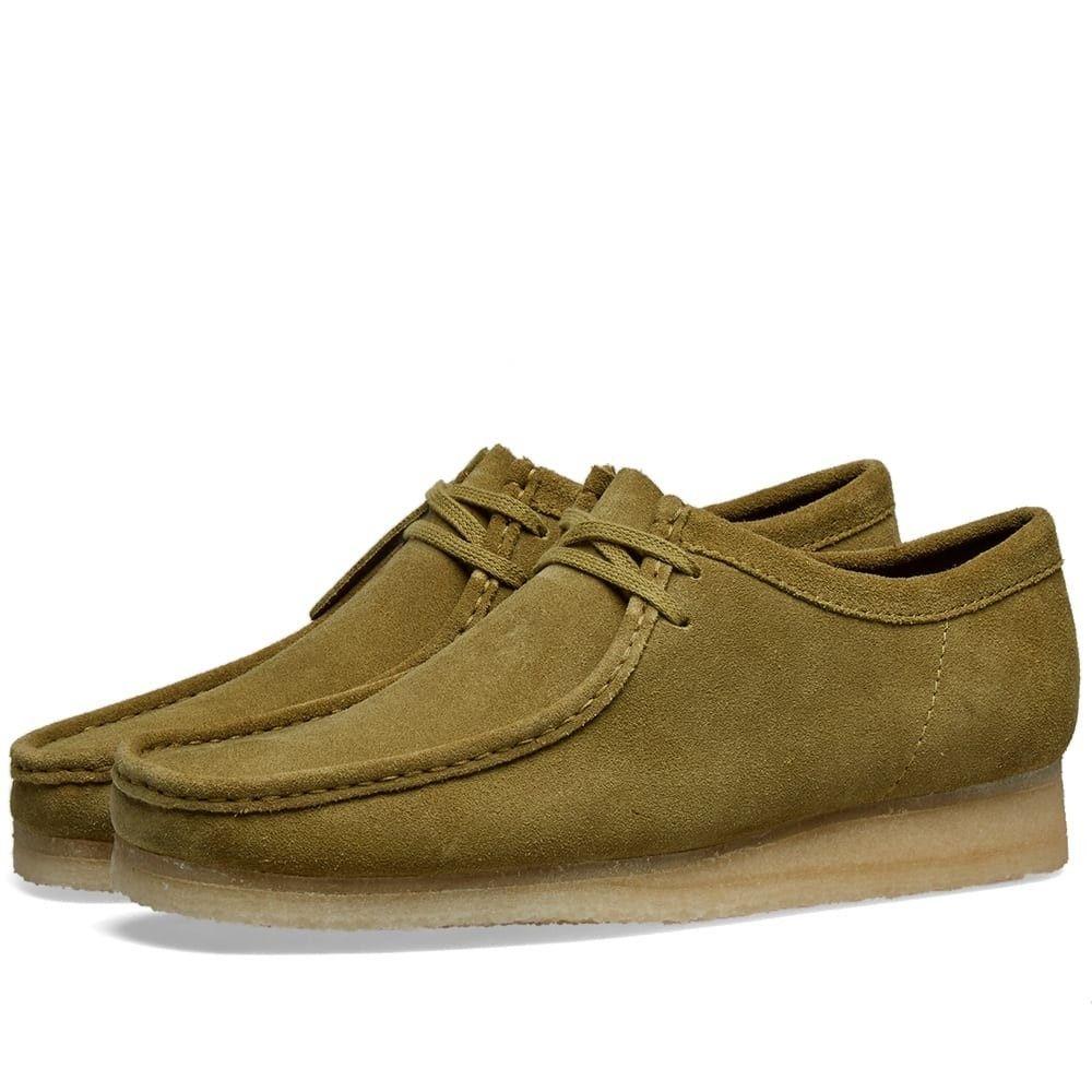 クラークス Clarks Originals メンズ シューズ・靴 【wallabee】Khaki Suede