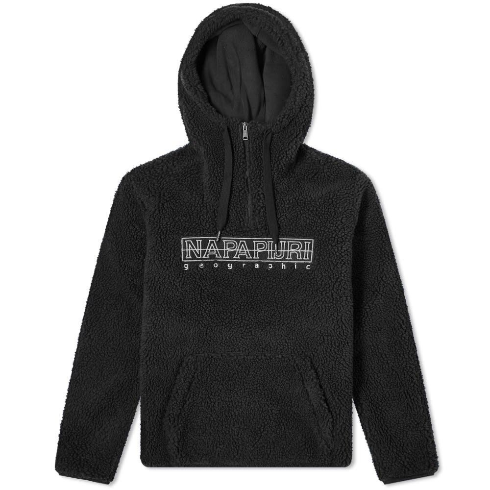 ナパピリ Napapijri メンズ フリース トップス【teide 2 popover hooded fleece】Black