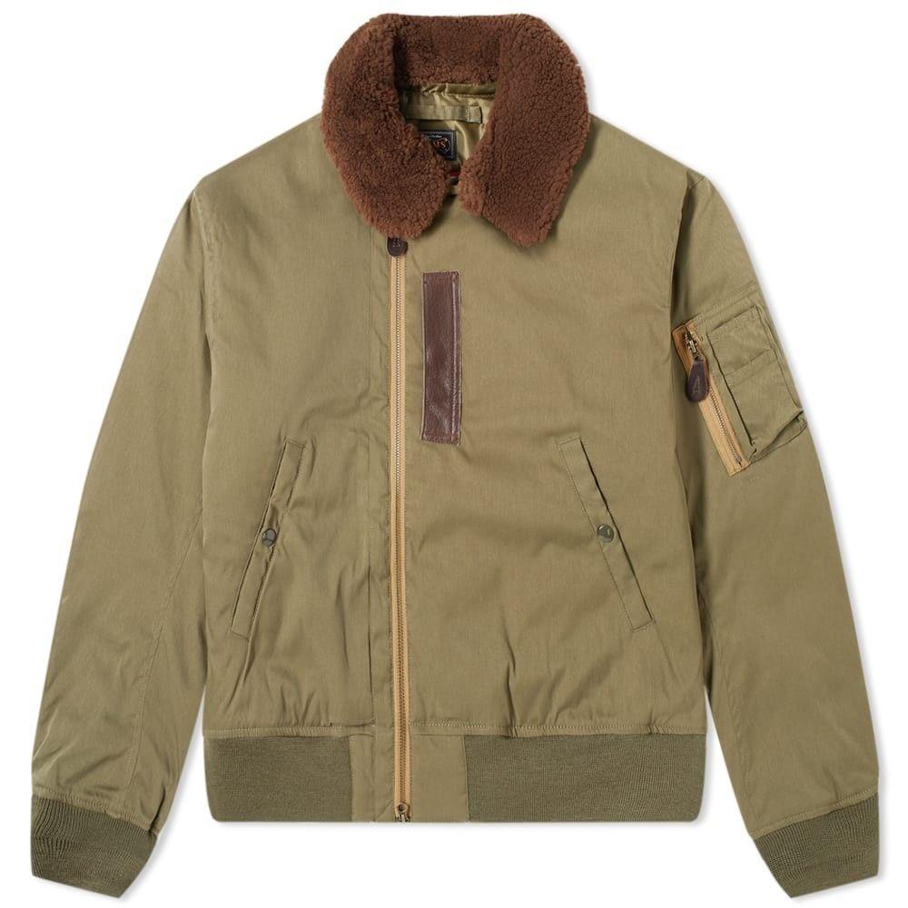 ビームス プラス Beams Plus メンズ ダウン・中綿ジャケット アウター【b-15 down jacket】Olive Drab