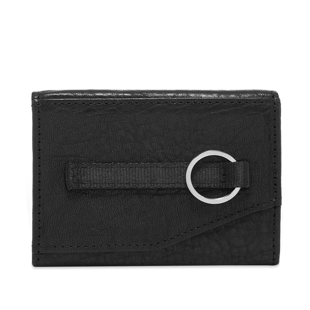 ヌンク nunc メンズ 財布 【double wallet】Black