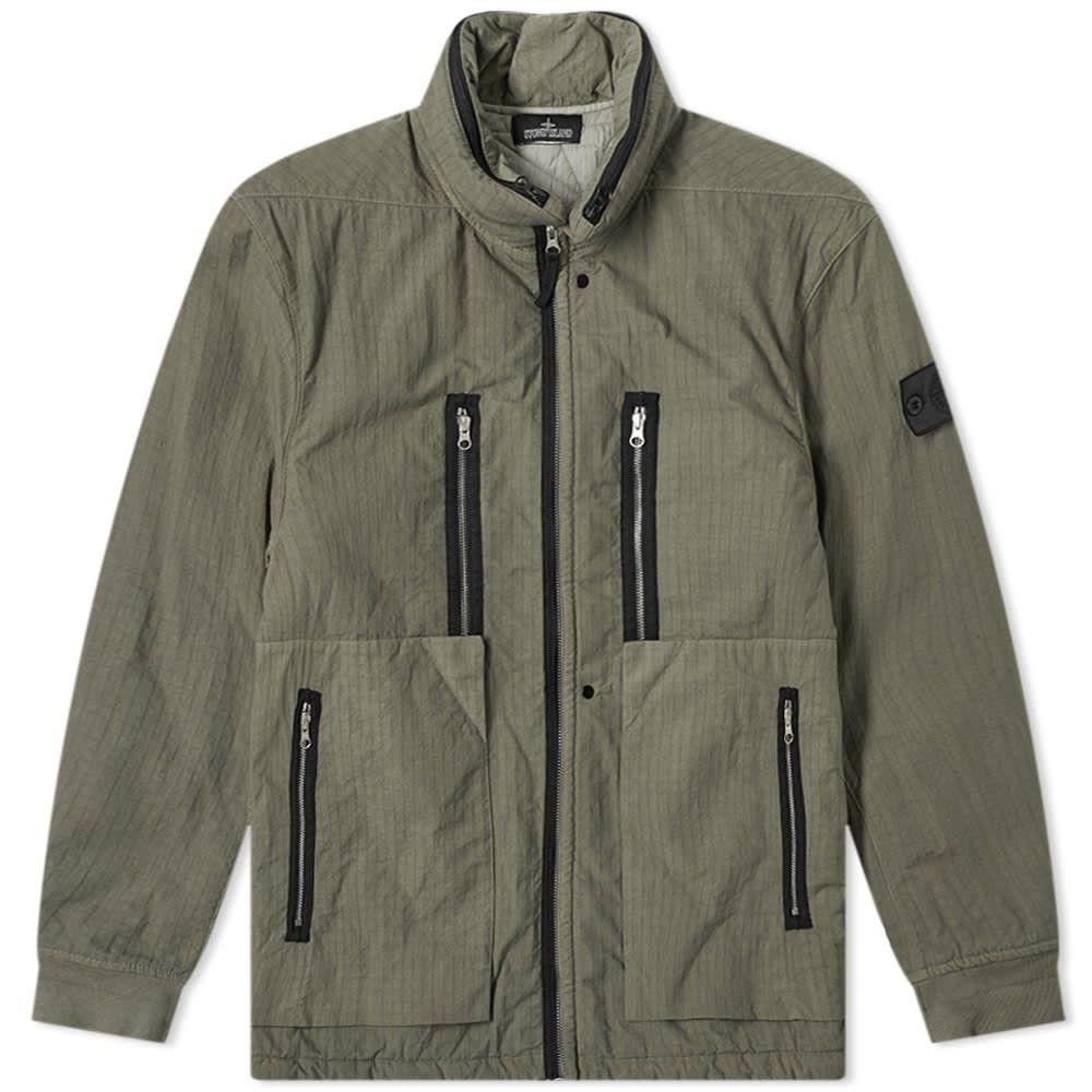 ストーンアイランド Stone Island Shadow Project メンズ ジャケット アウター【naslan ripstop field jacket】Military Green