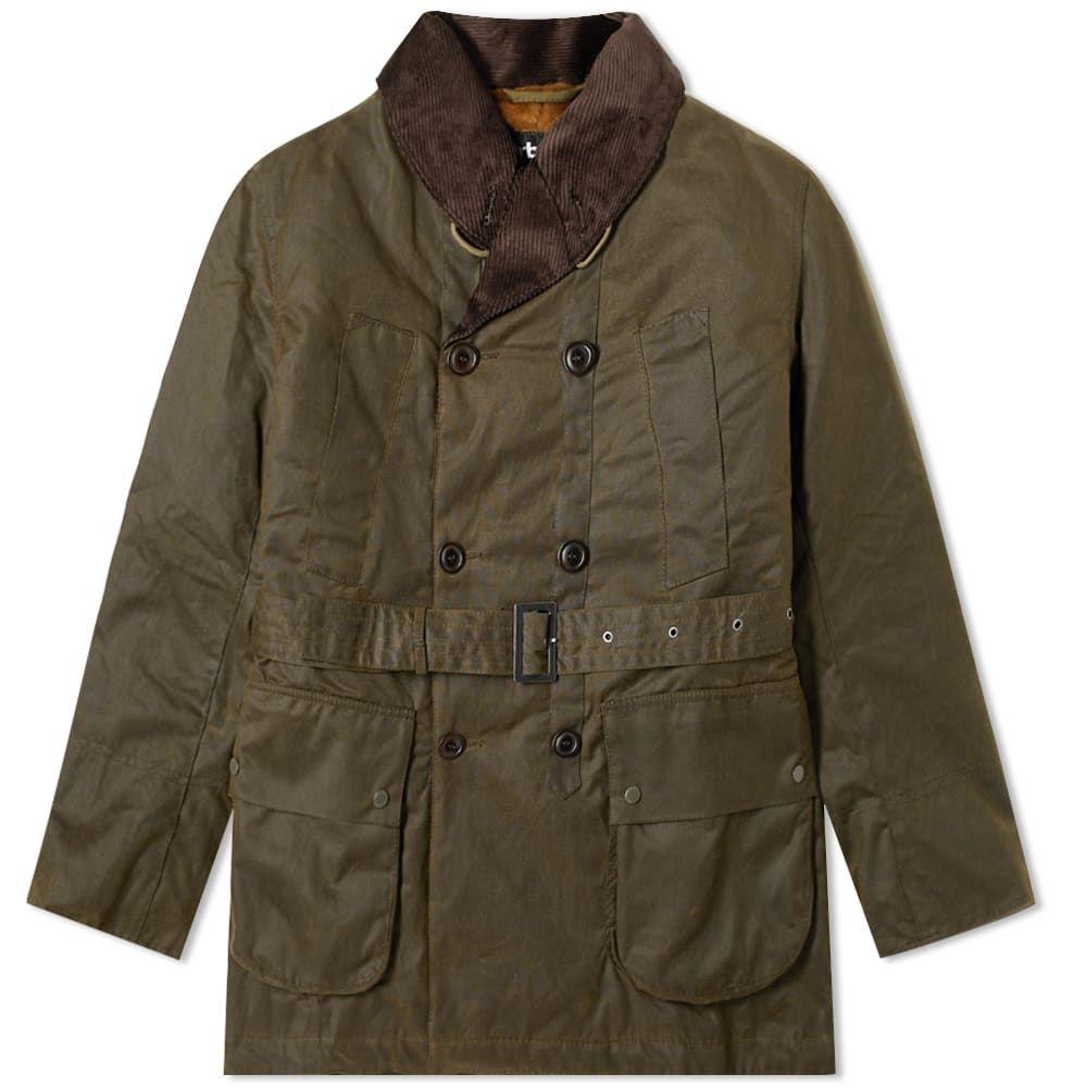 バブアー Barbour メンズ ジャケット アウター【x engineered garments mackinaw wax jacket】Olive