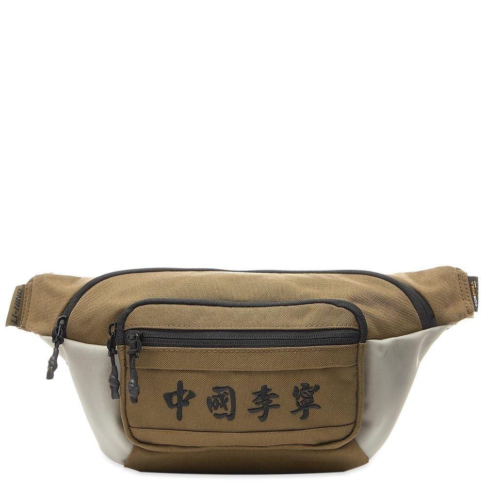 リーニン Li-Ning メンズ ボディバッグ・ウエストポーチ バッグ【waist bag】Beige