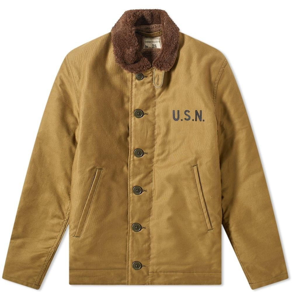 ザ リアル マッコイズ The Real McCoys メンズ ジャケット アウター【the real mccoy's n-1 deck jacket】Khaki