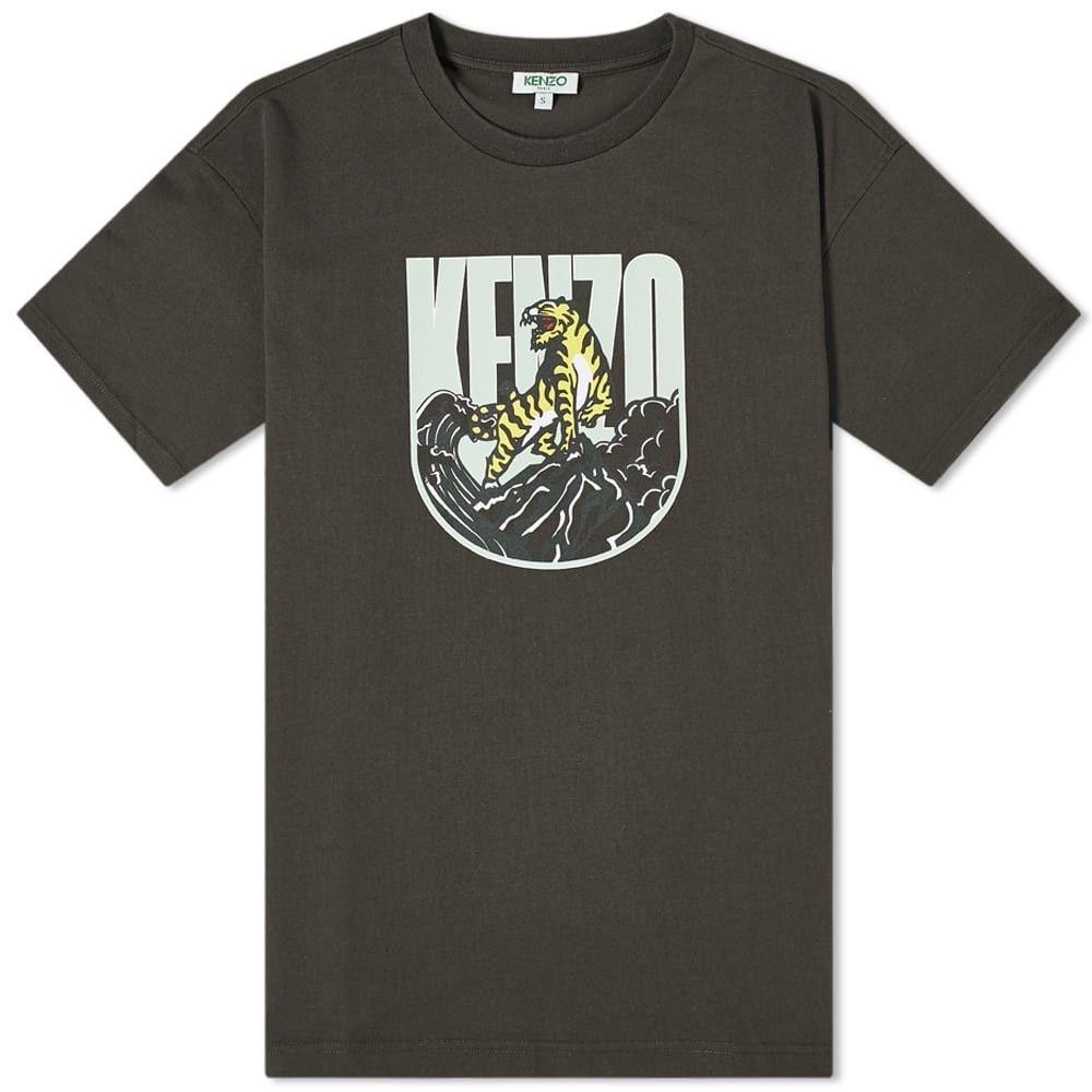 ケンゾー Kenzo メンズ Tシャツ トップス【Expedition Tee】Dark Khaki