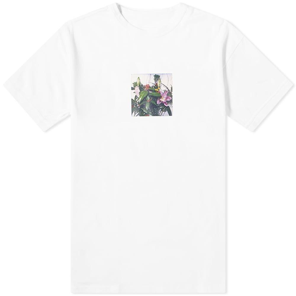ユニフォームエクスペリメント Uniform Experiment メンズ Tシャツ トップス【x Araki Polaroid C Tee】White