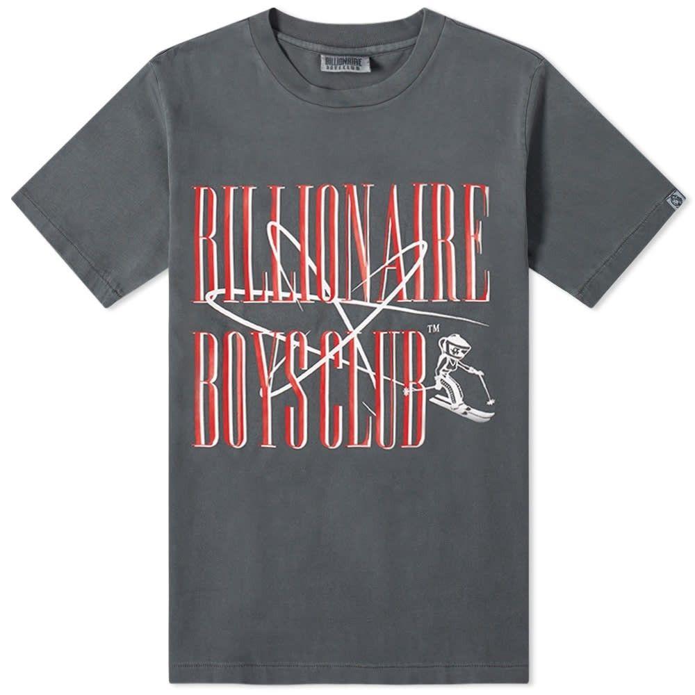 ビリオネアボーイズクラブ Billionaire Boys Club メンズ Tシャツ トップス【Ski Club Graphic Tee】Black