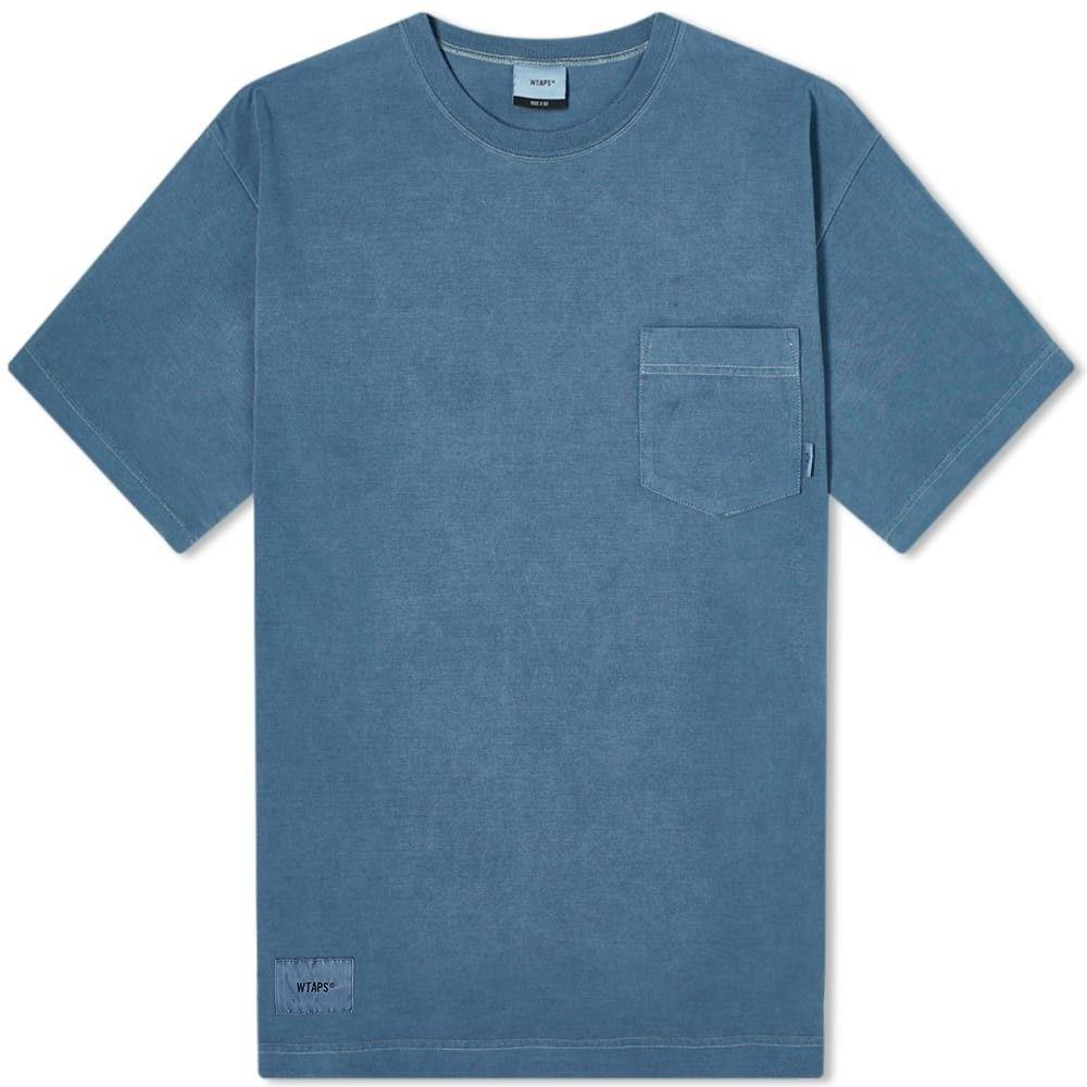 ダブルタップス WTAPS メンズ Tシャツ トップス【Blank 02 Tee】Navy