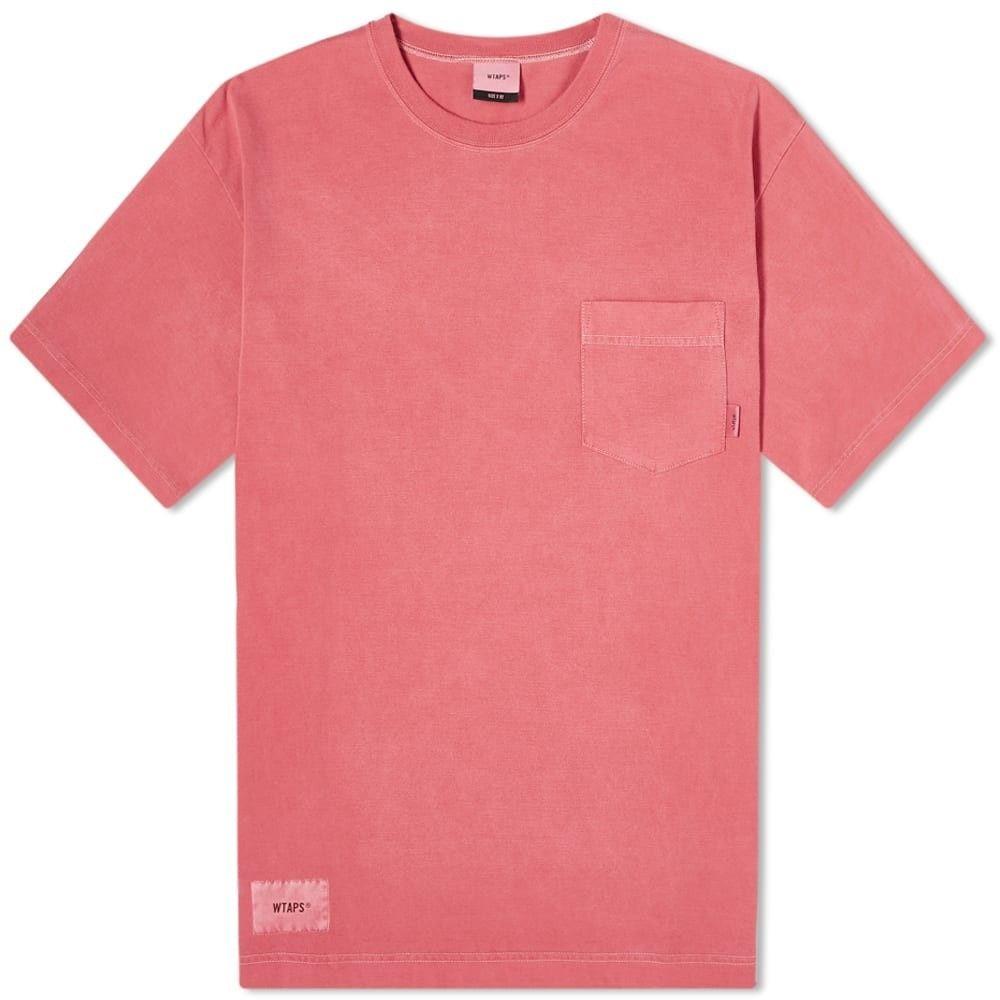ダブルタップス WTAPS メンズ Tシャツ トップス【Blank 02 Tee】Red