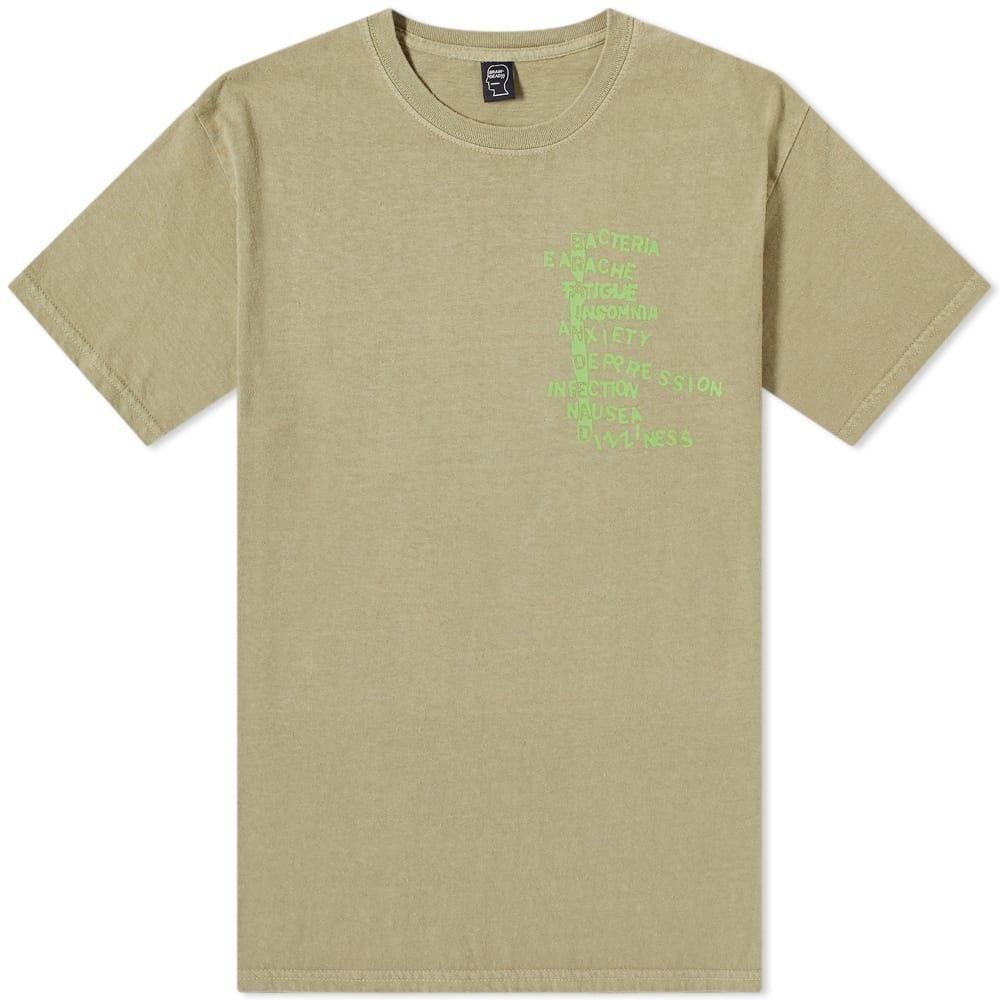 ブレインデッド Brain Dead メンズ Tシャツ トップス【Heatwave Tee】Natural