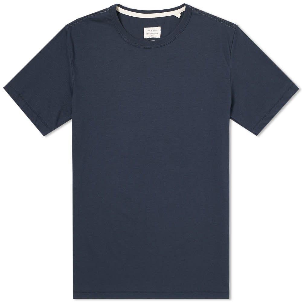 ラグ&ボーン Rag & Bone メンズ Tシャツ トップス【Standard Issue Tee】Navy