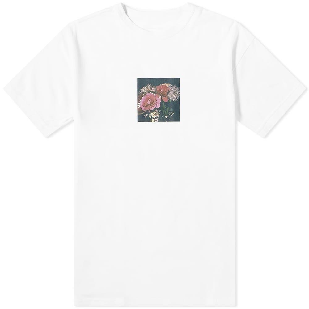 ユニフォームエクスペリメント Uniform Experiment メンズ Tシャツ トップス【x Araki Polaroid A Tee】White