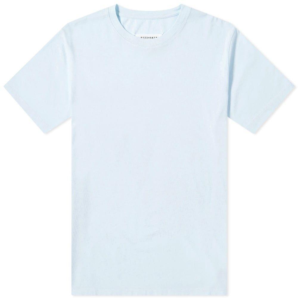 メゾン マルジェラ Maison Margiela メンズ Tシャツ トップス【10 Classic Stitch Tee】Light Blue