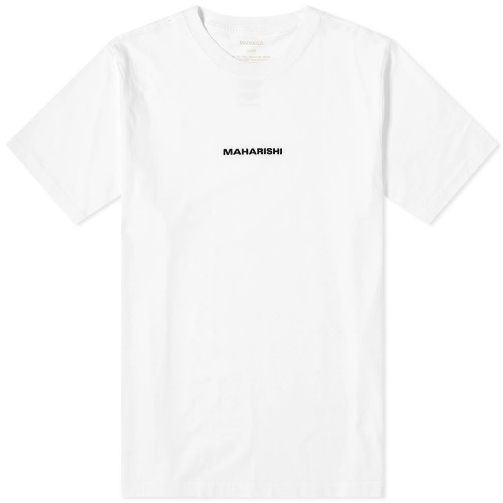 マハリシ Maharishi メンズ Tシャツ ロゴTシャツ トップス【Classic Logo Tee】White