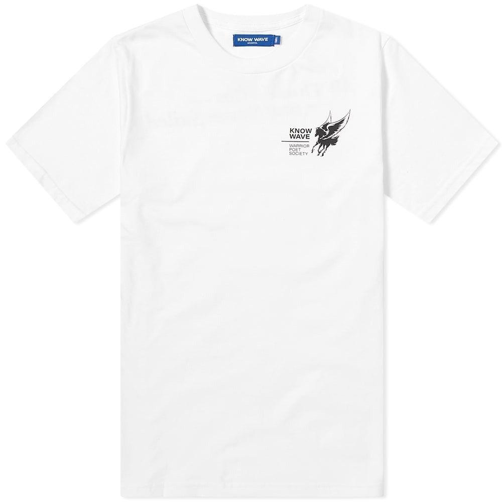 ノウ ウェイブ Know Wave メンズ Tシャツ トップス【Kaufman Tee】White