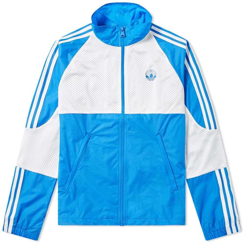 アディダス Adidas Consortium メンズ ジャージ アウター【x oyster track top】Blue
