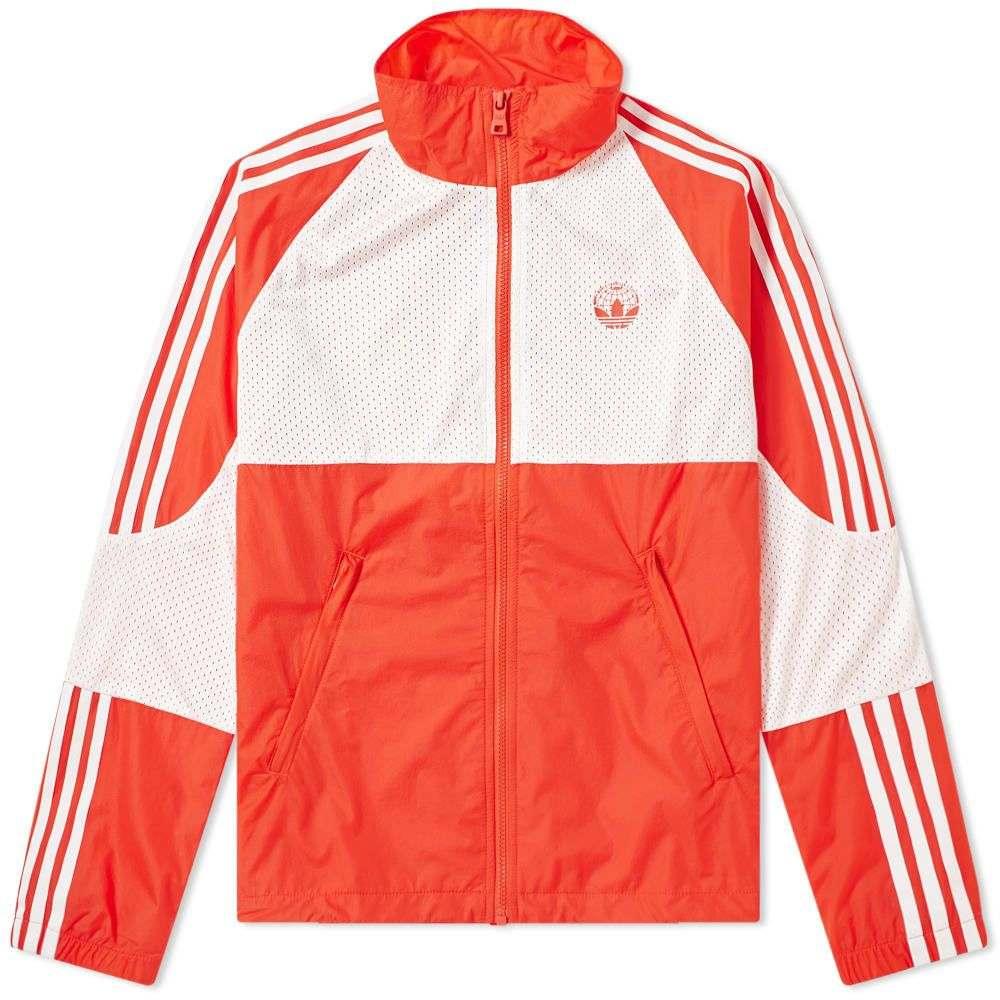 アディダス Adidas Consortium メンズ ジャージ アウター【x oyster track top】Red