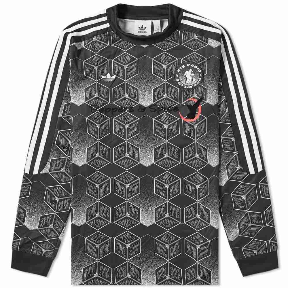 アディダス Adidas メンズ Tシャツ トップス【x nts radio x spirit forecast goalkeeper jersey】Black