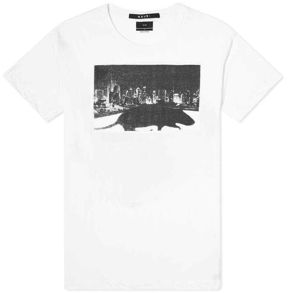 スビ Ksubi メンズ Tシャツ トップス【Klub Rat Tee】Off White