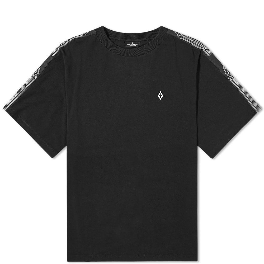 マルセロバーロン Marcelo Burlon メンズ Tシャツ トップス【County Tape Oversized Tee】Black