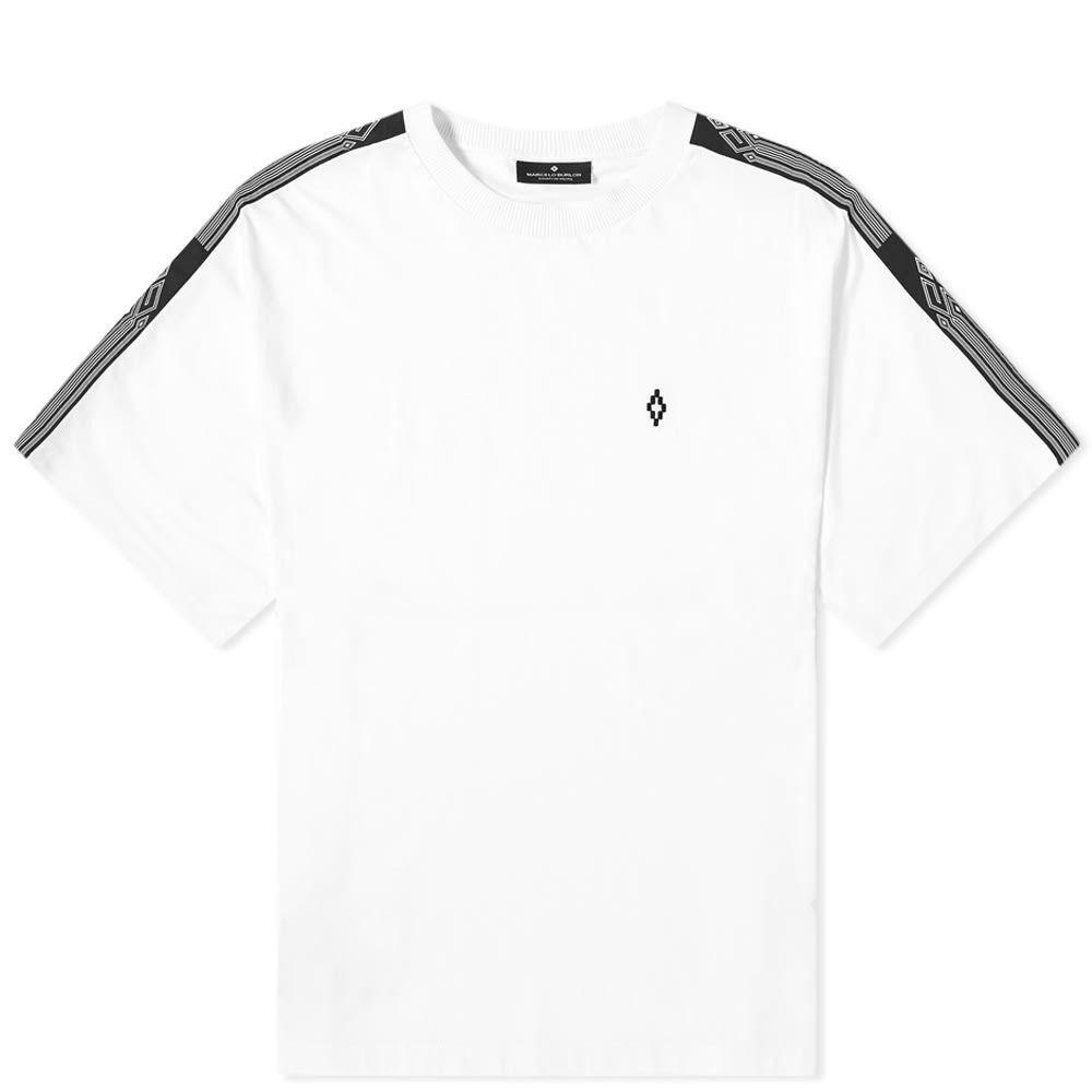 マルセロバーロン Marcelo Burlon メンズ Tシャツ トップス【County Tape Oversized Tee】White
