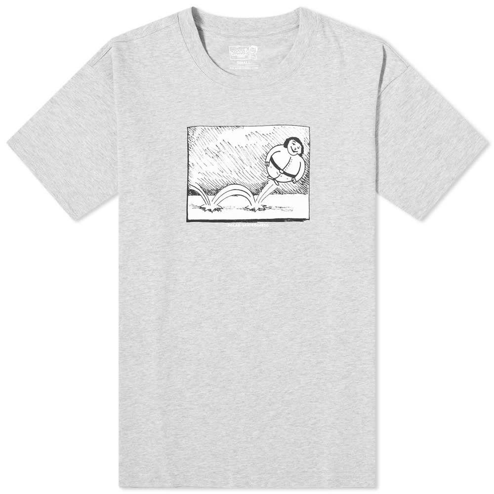 ポーラー スケート カンパニー Polar Skate Co. メンズ Tシャツ トップス【Bounce Tee】Sports Grey