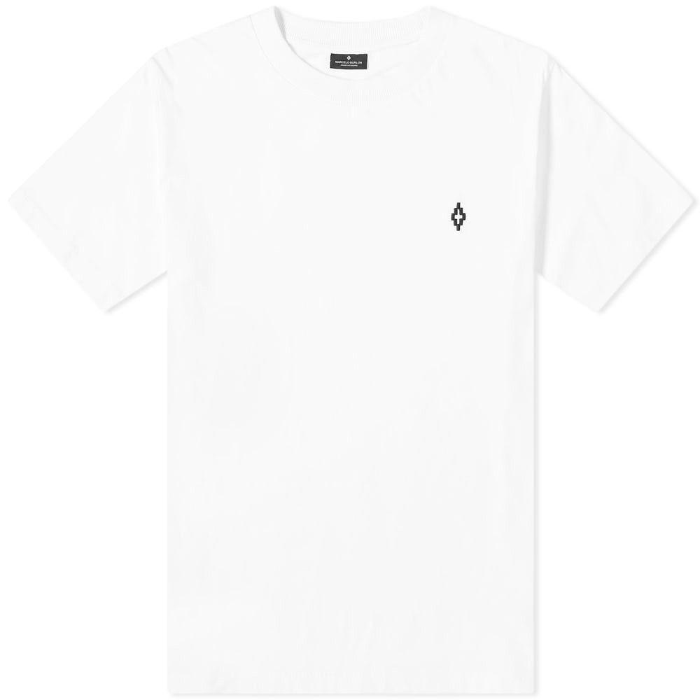 マルセロバーロン Marcelo Burlon メンズ Tシャツ ロゴTシャツ トップス【Diamond Logo Tee】White