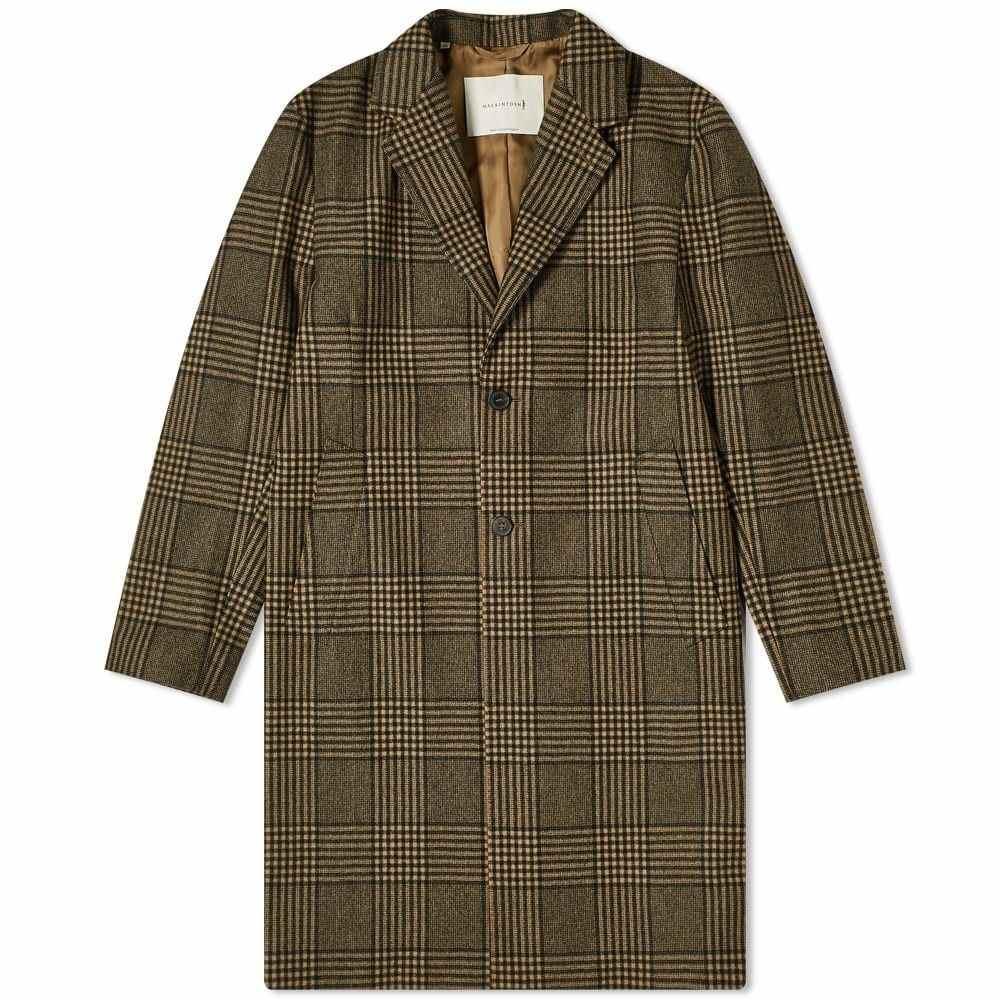 マッキントッシュ Mackintosh メンズ コート チェスターフィールドコート アウター【Stanley Loro Piana Check Chesterfield Coat】Beige Check