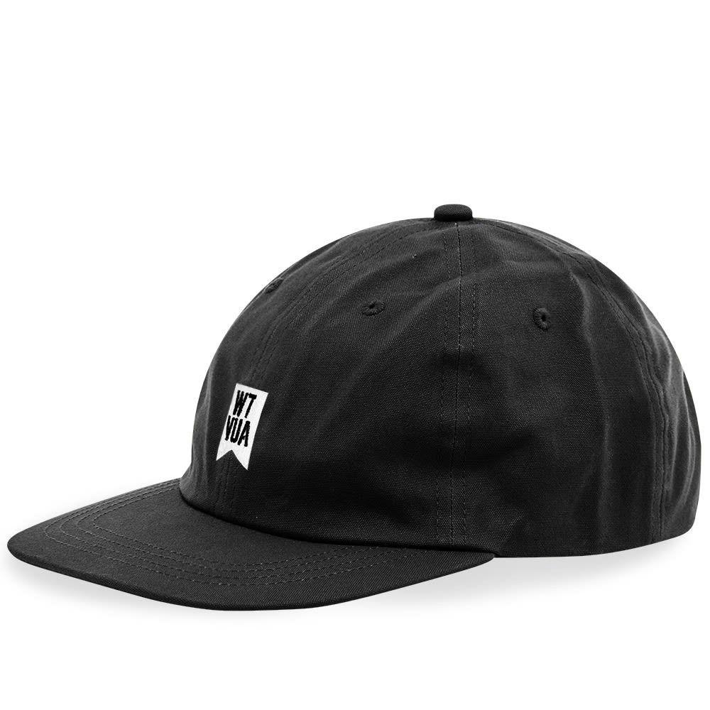ダブルタップス メンズ 帽子 キャップ Black 【サイズ交換無料】 ダブルタップス WTAPS メンズ キャップ 帽子【T-6L 01 Cap】Black