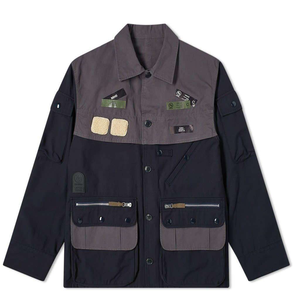 ネイバーフッド Neighborhood メンズ 釣り・フィッシング ジャケット アウター【Fishing Jacket】Navy