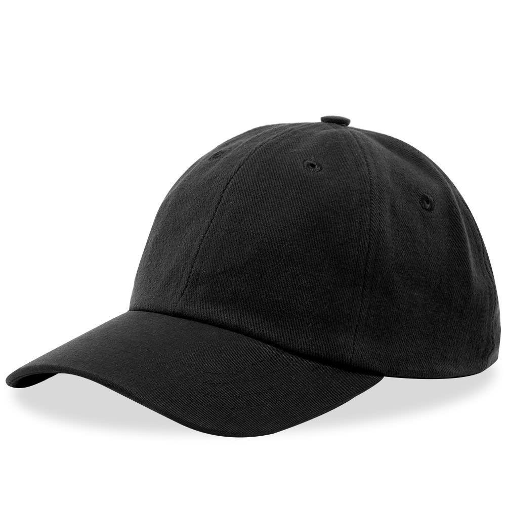 フォーク メンズ 帽子 キャップ Soft Black 【サイズ交換無料】 フォーク Folk メンズ キャップ 帽子【6 Panel Cap】Soft Black