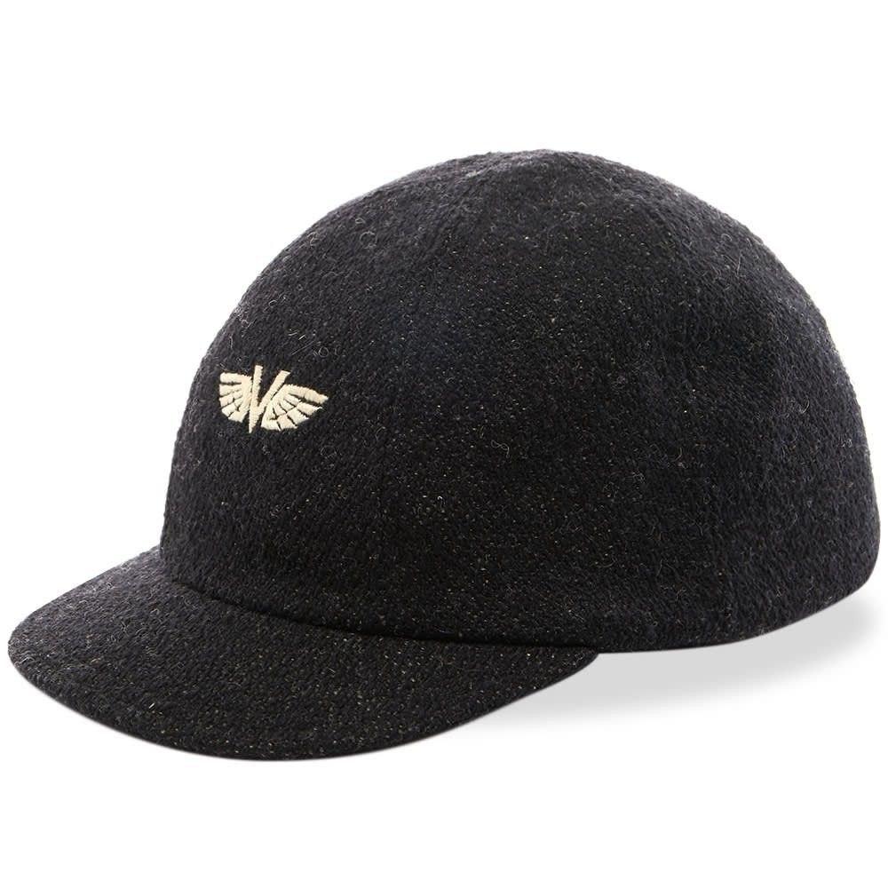 ビズビム メンズ 帽子 キャップ Black 【サイズ交換無料】 ビズビム Visvim メンズ キャップ 帽子【Honus V-Wing Cap】Black