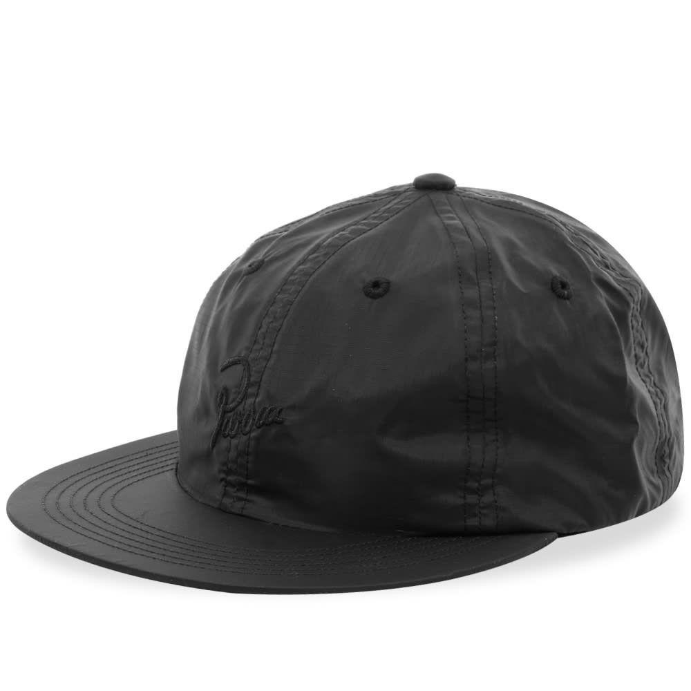 バイ パラ メンズ 帽子 キャップ Black 【サイズ交換無料】 バイ パラ By Parra メンズ キャップ 帽子【Signature 6 Panel Hat】Black