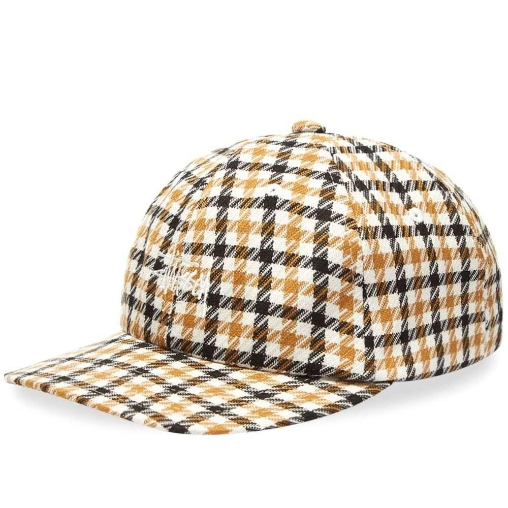 ステューシー メンズ 帽子 キャップ Mustard 【サイズ交換無料】 ステューシー Stussy メンズ キャップ スナップバック 帽子【Mixed Pattern Snapback Cap】Mustard
