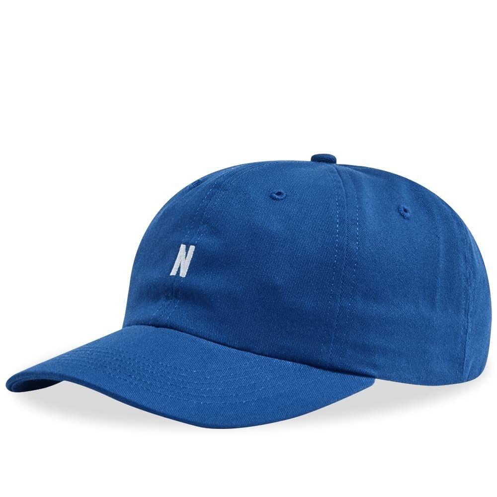 ノースプロジェクト メンズ 帽子 キャップ Twilight Blue 【サイズ交換無料】 ノースプロジェクト Norse Projects メンズ キャップ 帽子【Twill Sports Cap】Twilight Blue