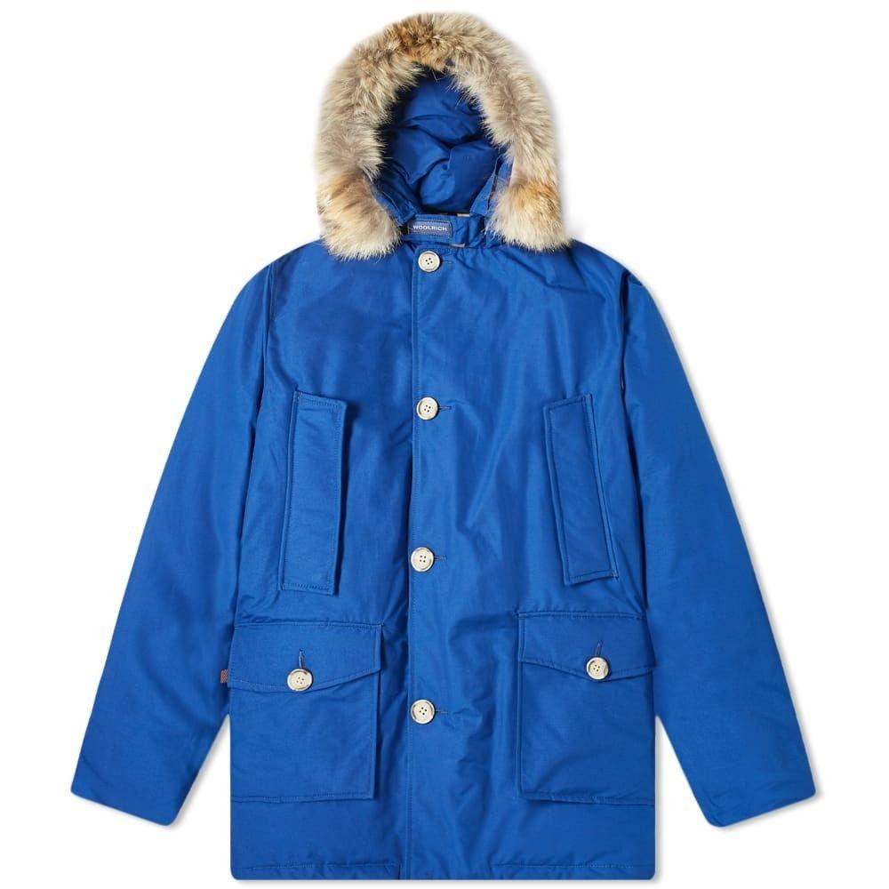 ウールリッチ Woolrich メンズ コート アウター【Arctic Parka DF】Electric Blue