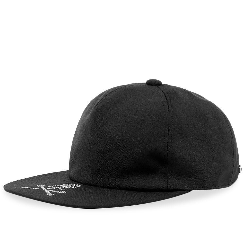 マスターマインド メンズ 帽子 キャップ Black 【サイズ交換無料】 マスターマインド MASTERMIND WORLD メンズ キャップ ベースボールキャップ 帽子【Skull Crystal Baseball Cap】Black