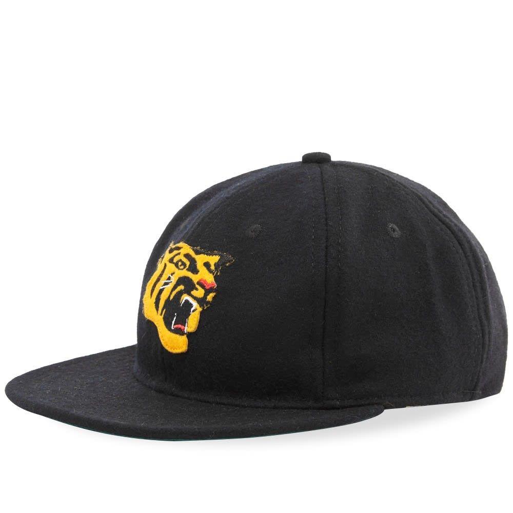 エベッツフィールドフランネルズ メンズ 帽子 キャップ Black 【サイズ交換無料】 エベッツフィールドフランネルズ Ebbets Field Flannels メンズ キャップ 帽子【Vintage Osaka Tigers 1965 Cap】Black