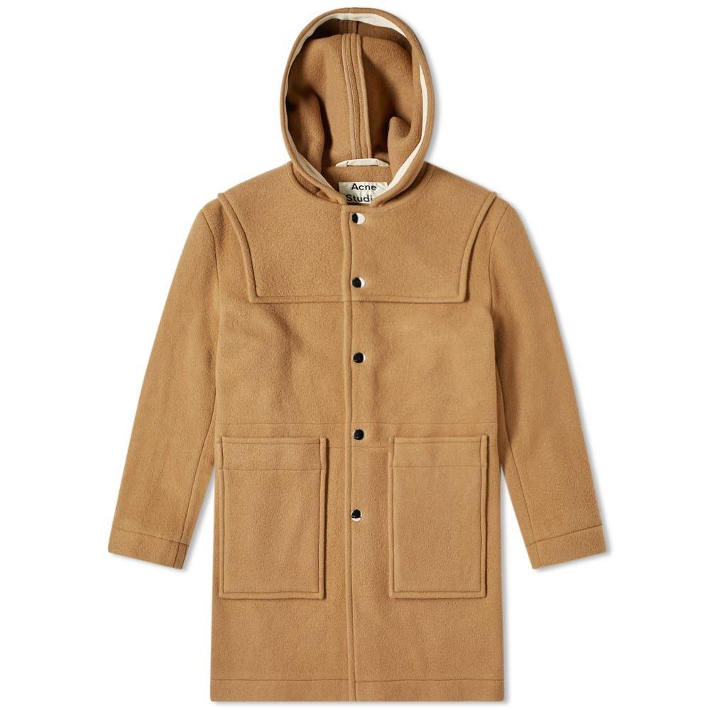 アクネ ストゥディオズ Acne Studios メンズ コート ダッフルコート アウター【Orvon Duffel Coat】Camel Brown