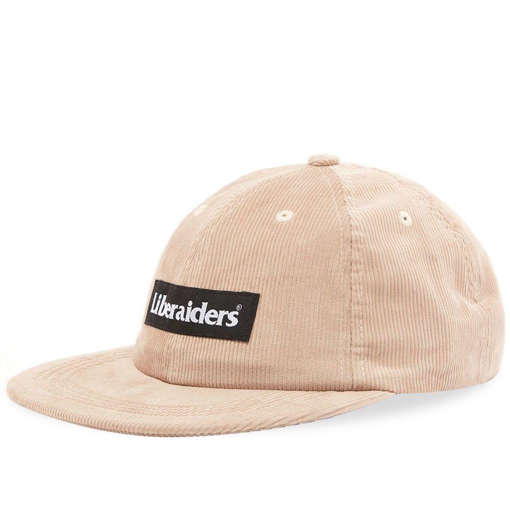 リベレイダース メンズ 帽子 キャップ Beige 【サイズ交換無料】 リベレイダース Liberaiders メンズ キャップ 帽子【Corduroy Cap】Beige