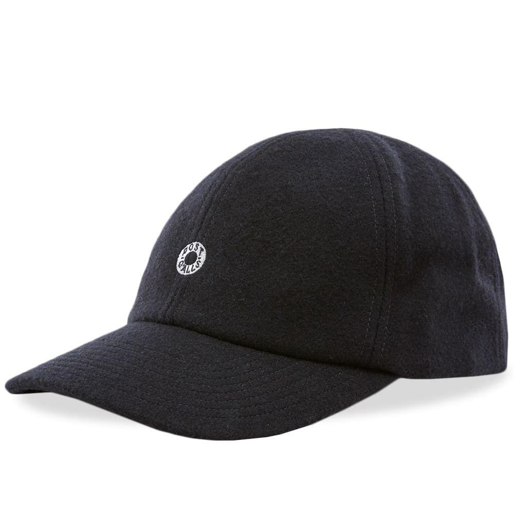 ポストオーバーオールズ メンズ 帽子 キャップ Navy 【サイズ交換無料】 ポストオーバーオールズ Post Overalls メンズ キャップ ベースボールキャップ 帽子【Wool Flannel Baseball Cap】Navy