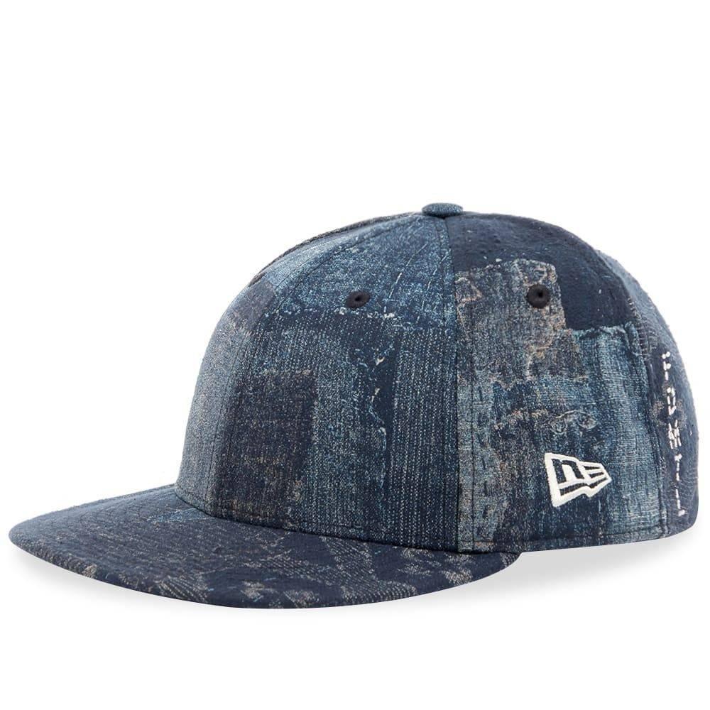 ファンダメンタル メンズ 帽子 キャップ Boro Jacquard 【サイズ交換無料】 ファンダメンタル FDMTL メンズ キャップ 帽子【Low Profile New Era Cap】Boro Jacquard