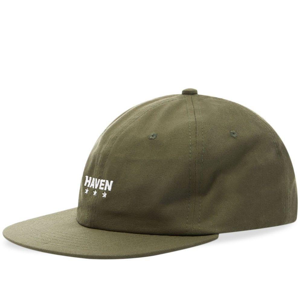 ヘブン メンズ 帽子 キャップ Olive 【サイズ交換無料】 ヘブン HAVEN メンズ キャップ 帽子【6 Panel Cap】Olive
