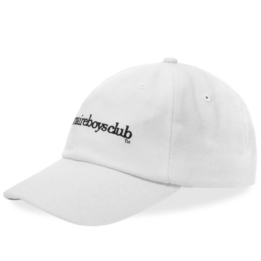 ビリオネアボーイズクラブ メンズ 帽子 キャップ White 【サイズ交換無料】 ビリオネアボーイズクラブ Billionaire Boys Club メンズ キャップ 帽子【Embroidered Logo Cap】White