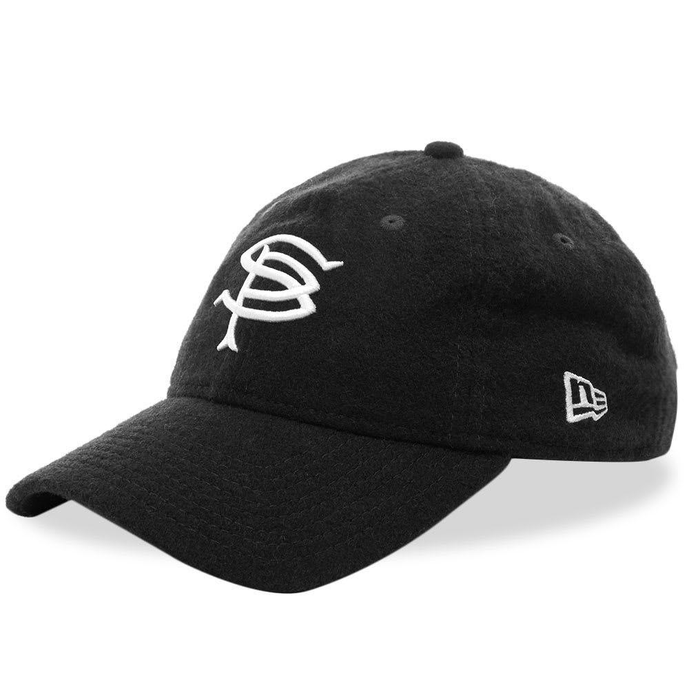 ソフネット メンズ 帽子 キャップ Black 【サイズ交換無料】 ソフネット SOPHNET. メンズ キャップ 帽子【x New Era Wool 9Fifty Cap】Black
