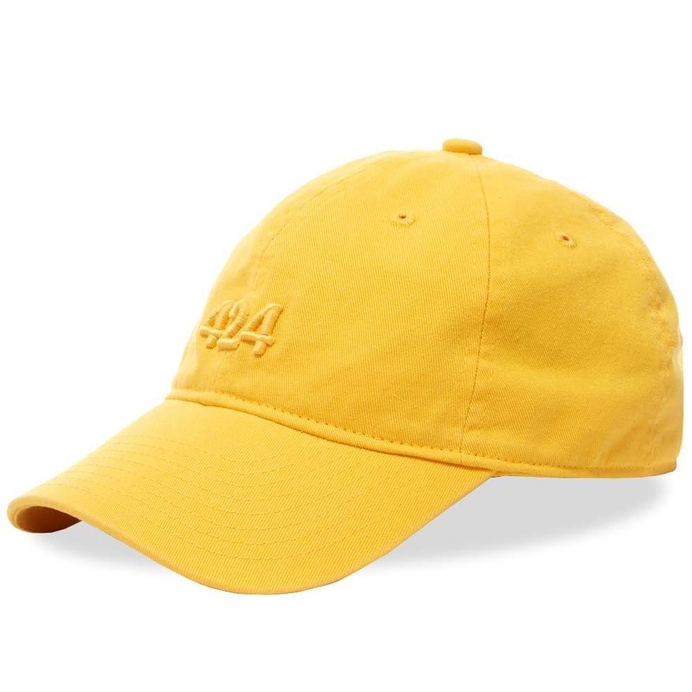 フォートゥーフォー 424 メンズ キャップ 帽子【Logo Cap】Yellow