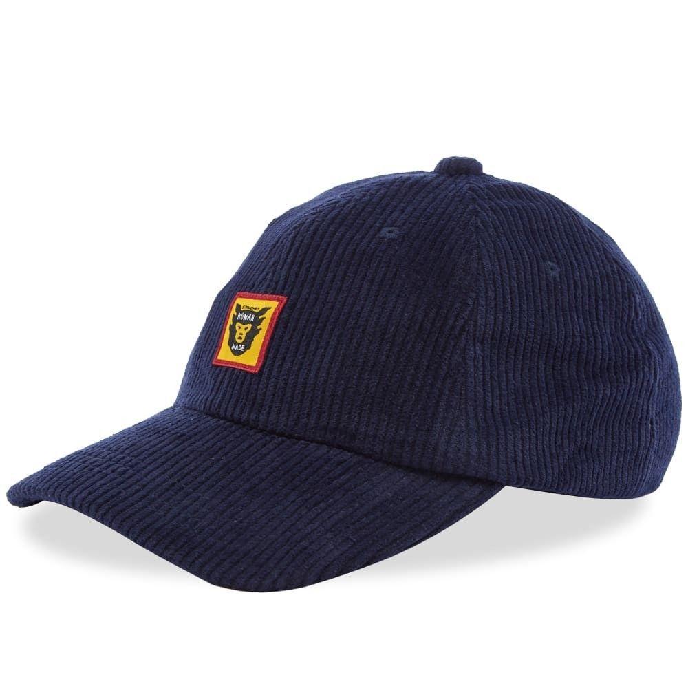 ヒューマンメイド メンズ 帽子 キャップ Navy 【サイズ交換無料】 ヒューマンメイド Human Made メンズ キャップ 帽子【STRMCWBY Corduroy Cap】Navy