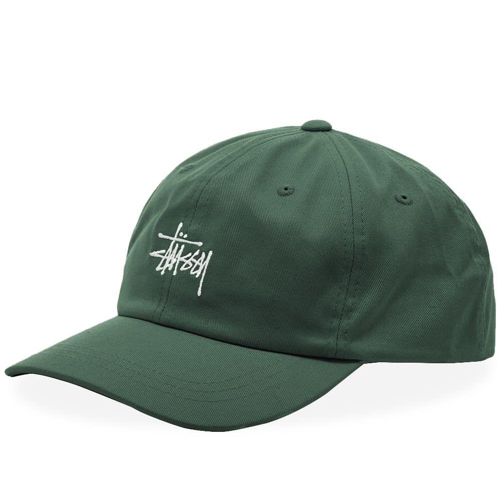 ステューシー メンズ 帽子 キャップ Green 【サイズ交換無料】 ステューシー Stussy メンズ キャップ 帽子【Stock Low Pro Cap】Green
