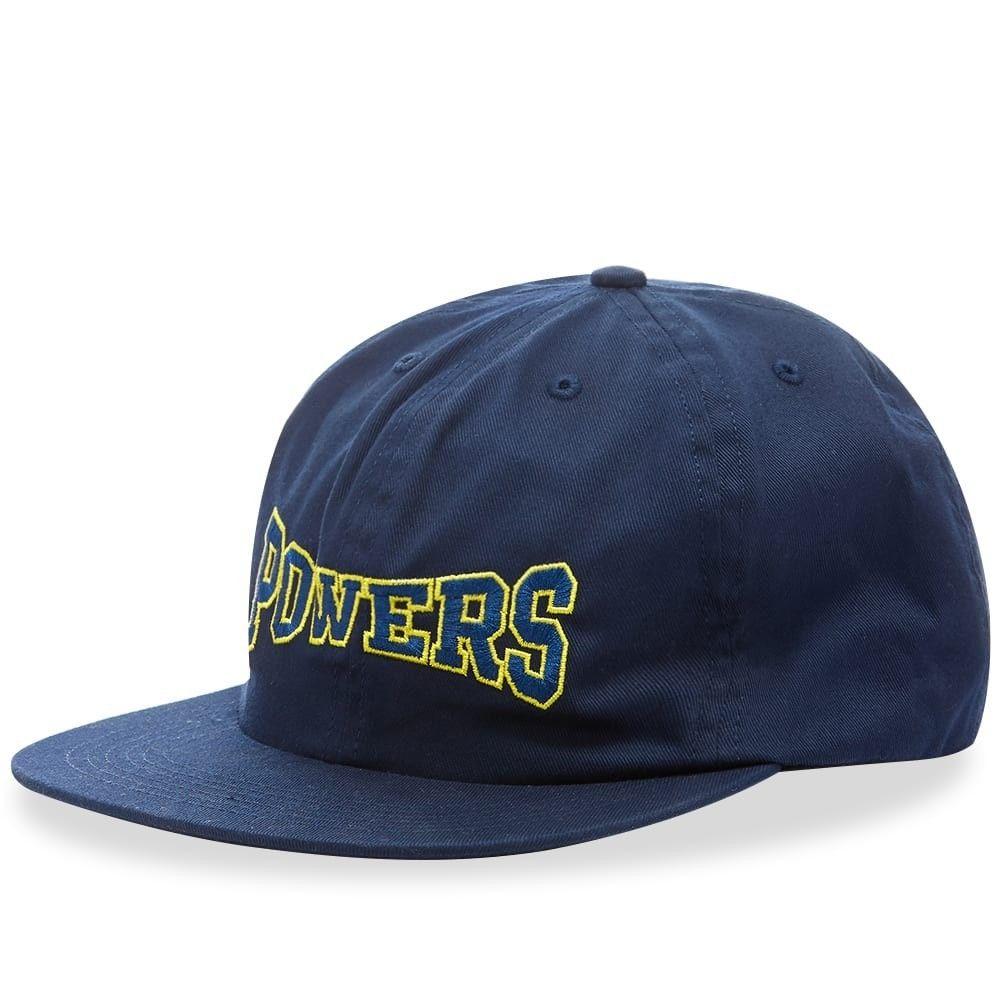 パワーズ メンズ 帽子 キャップ Navy 【サイズ交換無料】 パワーズ POWERS メンズ キャップ 帽子【Arch 6-Panel Cap】Navy