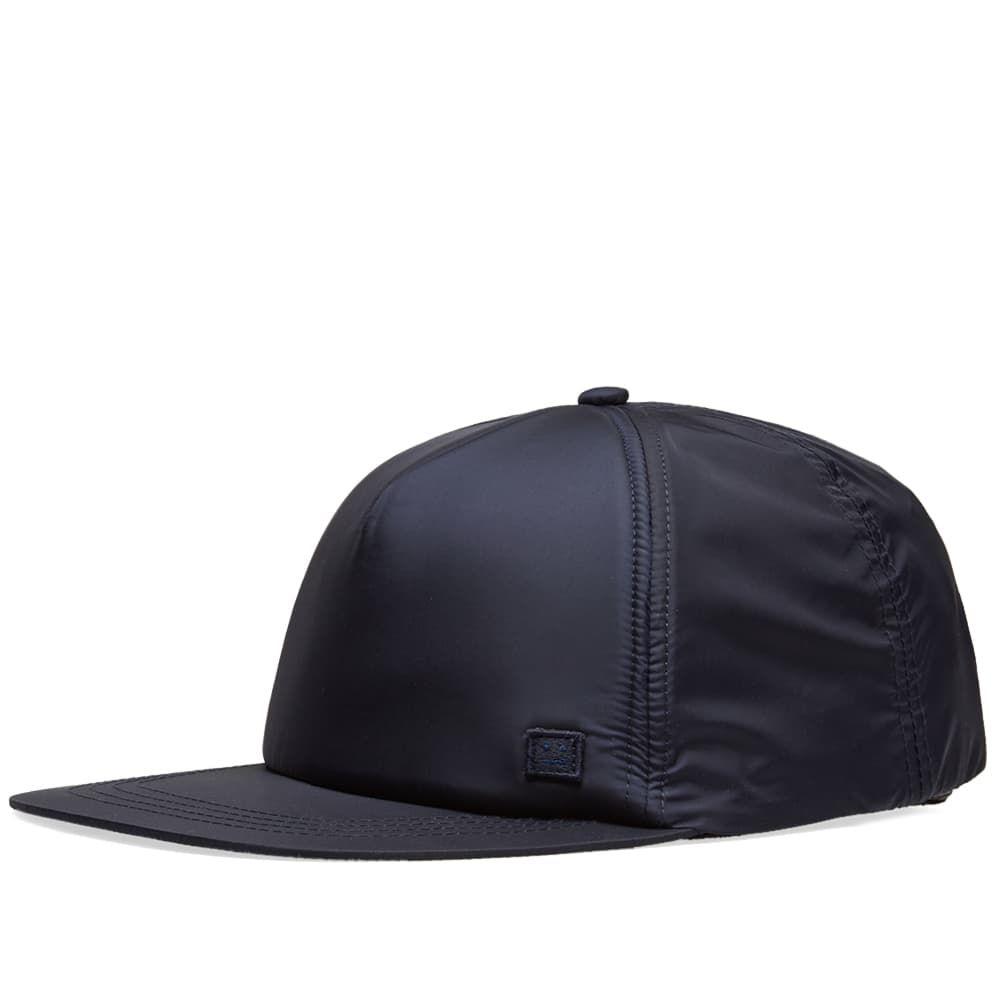 アクネ ストゥディオズ メンズ 帽子 キャップ Navy 【サイズ交換無料】 アクネ ストゥディオズ Acne Studios メンズ キャップ 帽子【Covia Cap】Navy